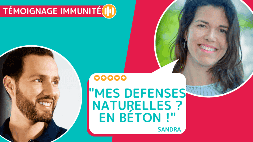 Témoignage de Sandra qui sait booster ses défenses naturelles, elle partage ses secrets sur Nutrastream