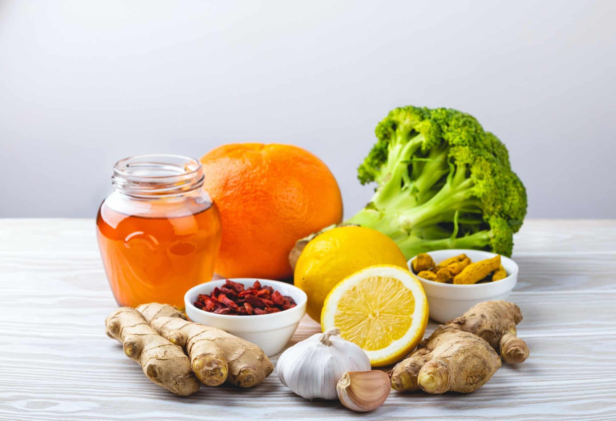 aliments à privilégier pour un bon système immunitaire