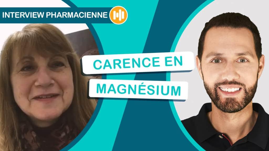 Mathieu interview Martine Mestiri sur la carence en magnéisum dans votre média Nutrastream
