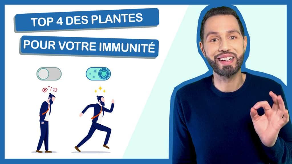 top 4 des plantes qui boostent les défenses immunitaires